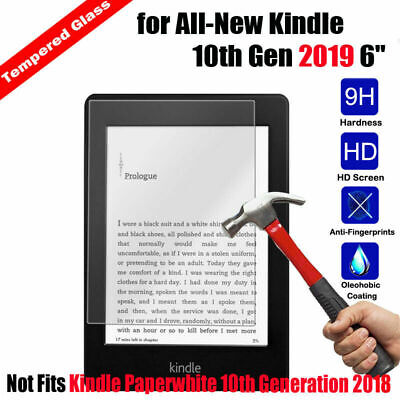 £3.99 • Buy TEMPERED GLASS SCREEN PROTECTOR COVER FOR AMAZON KINDLE 6  (10th Gen-2019)