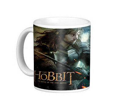 The Hobbit Sons Of Durin Mug. Lord Of The Rings. Tolkien. Thorin. Fili. Kili. • 9£