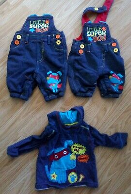 Boys Super Little Dog Outfit 0 To 3 Months • 4.99£