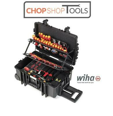 WIHA CompetenceXXL2 Electrician VDE Screwdrivers, Plier,Crimper & Tool Kit 42069 • 1,185.95£