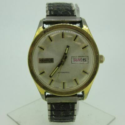 $ CDN52.78 • Buy Vintage Benrus Automatic 7325 400 Gold Tone And Stainless Steel Watch Parts