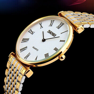 AU18.99 • Buy Vogue Couple Pair Watches Men's Ladies Ultra-Thin Waterproof Quartz Wrist Watch