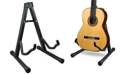 $ CDN14.01 • Buy Guitar Stand A Frame Foldable Universal Fits All Guitars Acoustic Electric Bass