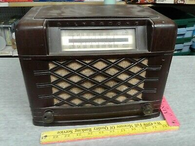 $ CDN41.22 • Buy Vintage Silvertone Sears Tube Radio 101 661 For Parts Only