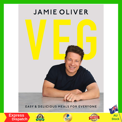 AU29.99 • Buy Jamie Oliver Veg Easy And Delicious Meals For Everyone Hardcover Book NEW