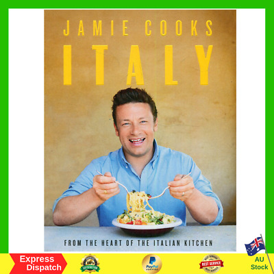 AU40.99 • Buy Jamie Cooks Italy By Jamie Oliver Hardcover Book Recipes For Fast Slow Cooking