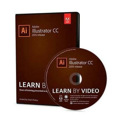 AU79.31 • Buy Adobe Illustrator CC Learn By Video (2015 Release) By Chad Chelius (author)