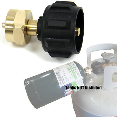 $9.99 • Buy Propane Cylinders Refill Adapter Fills 1 Lb With 20 Lb Propane Tank QCC Type 1