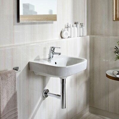 £88.95 • Buy Roca Debba Wall Hung Basin 500mm Wide - 1 Tap Hole