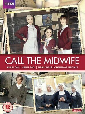 Call The Midwife Box Set DVD Series 1 2 3 Complete Collection +All Xmas Specials • 7.89£