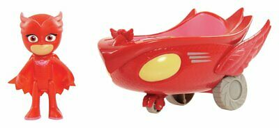 PJ Masks Owlette Figure And Vehicle • 14£