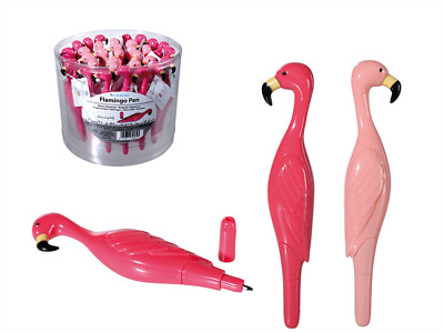 New Flamingo Pen 3d Writing Pink Bird Office Stationary School Gift Lid Gift Set • 1.99£