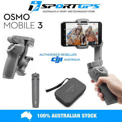 AU189 • Buy **NEW**  DJI OSMO MOBILE 3 COMBO Smartphone FOLDABLE Gimbal TRIPOD CARRY CASE