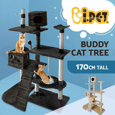 AU77.90 • Buy I.Pet Cat Tree Trees Scratching Post Scratcher Tower Condo House Furniture 170cm