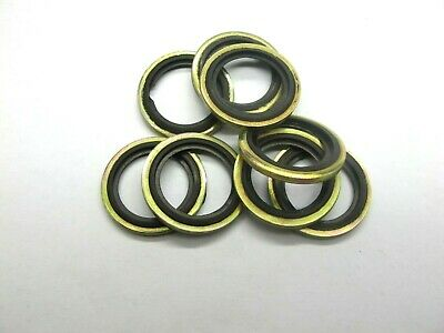 £13.55 • Buy Bonded Seal Washers IMPERIAL- SIZE 1/2  (BSP) Dowty Sealing Washer Sealing KW263
