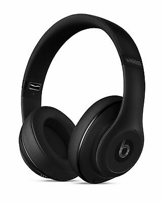 Beats By Dr. Dre Studio MHAJ2 Wireless Headphone - Matte Black • 300£