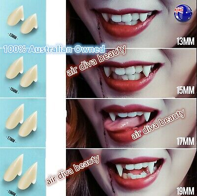$7.14 • Buy AU Halloween Costume Party Zombie Werewolf Resin Vampire Fangs Tooth Cap / Putty