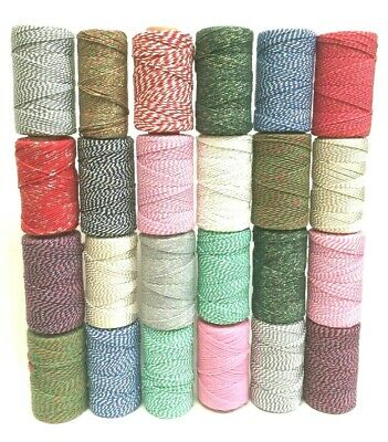 £2.40 • Buy Bakers Twine Craft Gift Wrapping Cord String 10 , 20 Or 30 Metres