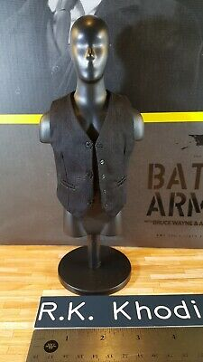 $ CDN60.12 • Buy Hot Toys MMS236 Alfred Pennyworth Action Figure's Vest Only From Batman Armory