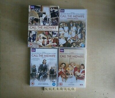Call The Midwife Series 1, 2 & Christmas Special Jessica Raine 6 Dvd Box Set New • 9.99£
