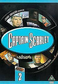 CAPTAIN SCARLET AND THE MYSTERONS VOLUME 2 DVD Brand New And Sealed UK Release • 9.04£