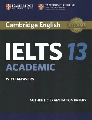£22.90 • Buy Cambridge IELTS 13 Academic Student's Book With Answers Authent... 9781108450492