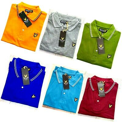 Lyle And Scott Short Sleeve Men's Polo Shirt - All Tipping  • 15.49£