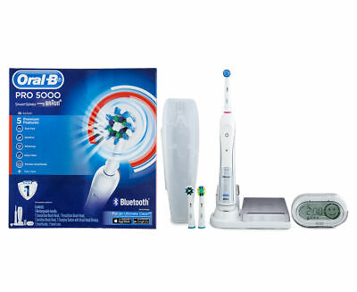 AU219.95 • Buy Oral-B Pro 5000 SmartSeries Electric Toothbrush W/ Bluetooth Connectivity Braun