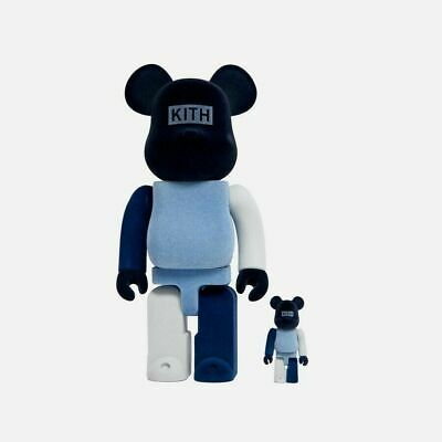 $399 • Buy BRAND NEW KITH X BEARBRICK 100% & 400% MULTI Pack IN HAND - SOLD OUT