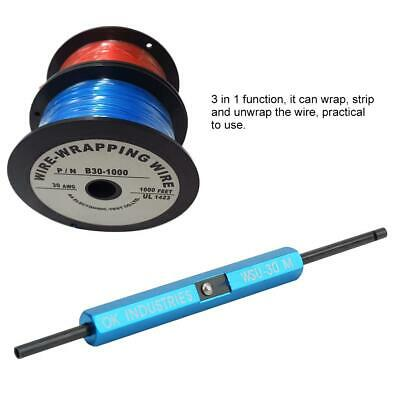 £13.15 • Buy WSU-30M 3-in-1 Function One-Stranded Wire Wrap Hand Tool For AWG 30 Wire