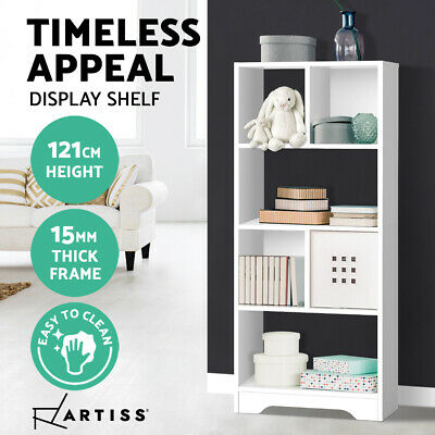 AU40.90 • Buy Artiss Display Shelf Bookcase Cube Storage Cabinet Bookshelf Bookcase White