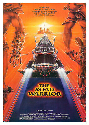 £9.45 • Buy MAD MAX 2 1981 The Road Warrior – George Miller, Movie Cinema Poster Wall Art