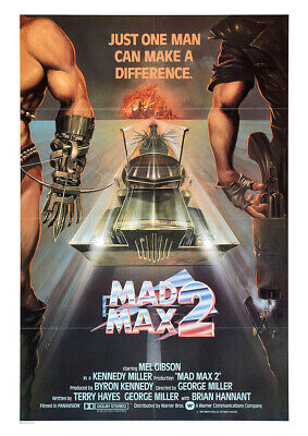 £9.45 • Buy MAD MAX 2 1981 The Road Warrior – Mel Gibson, Movie Cinema Poster Wall Art Print