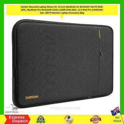 AU38.99 • Buy Tomtoc 360° Protective Laptop Sleeve Case Bag For 13 Inch Macbook Pro Air NEW AU