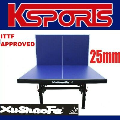 AU990 • Buy ITTF APPROVED Xu Shao Fa 25mm Championship Table Tennis Ping Pong Table INCLUDES