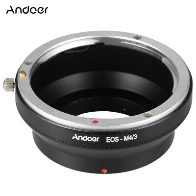 Manual Lens Adapter Ring For Canon EOS EF/EFS To Olympus  /3 MFT O3E5 • 7.96£