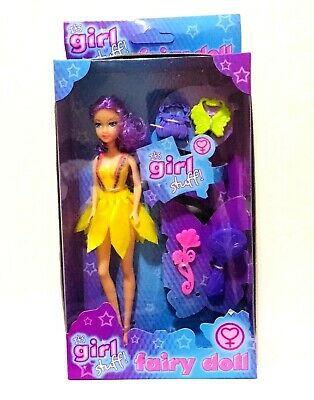 Its Girls Stuff Fairy Doll Child Toy Gift • 7.99£