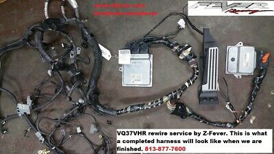 $ CDN3379.71 • Buy VQ37VHR Swap Harness For 03-06 Nissan 350Z
