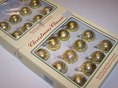 $ CDN12.99 • Buy Lot Of 21 Vintage Commodore Christmas Classics Glass Ornaments Balls In Box
