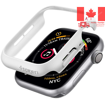 $ CDN16.08 • Buy Thin Fit Designed For Apple Watch Case For 44mm Series 5 Series 4 - White