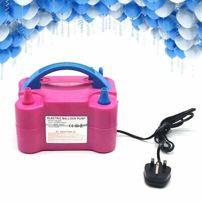£19.89 • Buy Portable 600W Electric Balloon Pump Inflator Air High Power Blower 2Nozzle Party