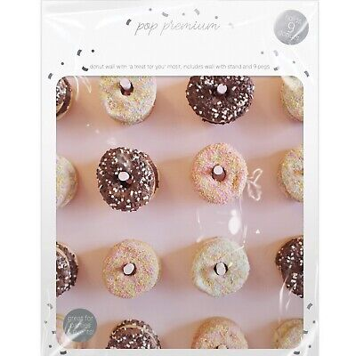 £8.77 • Buy Donut Doughnut Stand Party Wedding Favour Birthday Sweets Candy Cart