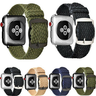 $ CDN10.58 • Buy Sports Nylon Woven Replacement Watch Band Strap For Apple Watch Series 1 2 3 4