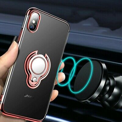 AU12.90 • Buy For IPhone 6 11 Pro Max Phone Case Cover With Magnetic Ring Holder Stand