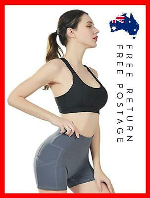 AU15.90 • Buy Shorts Summer Dress Sports Womens Yoga  Fitness Gym  Casual Running Tights Pants