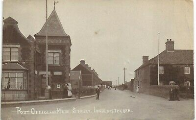 Ingoldisthorpe Near Snettisham & Heacham. Post Office & Main Street. • 26£