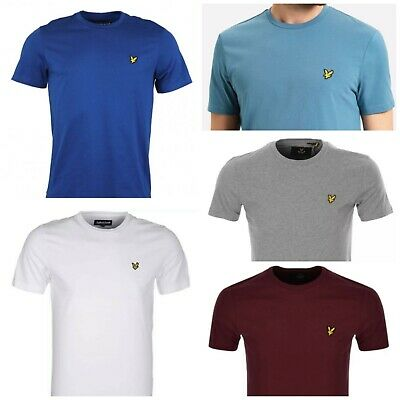 £12 • Buy Lyle And Scott Short Sleeve Men's Crew Neck T- Shirts -- Sale For Fall