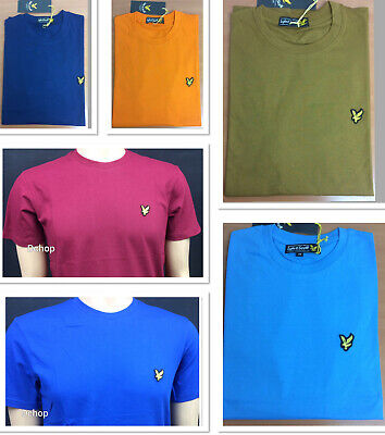 Classic Lyle And Scott Short Sleeve T-shirts In 7 Colours , Feel Comfort • 12.99£