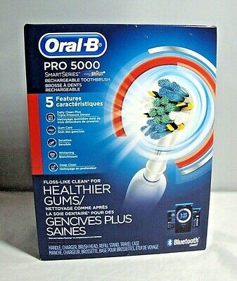 AU95.47 • Buy Oral-B Pro 5000 SmartSeries Rechargeable / Bluetooth (Sealed)