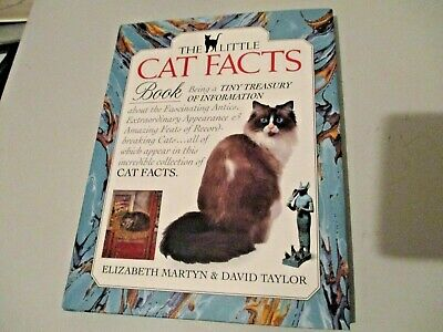 £2.75 • Buy The Little Cat Facts Book - Elizabeth Martyn & David Taylor/Antics/Appearance Of